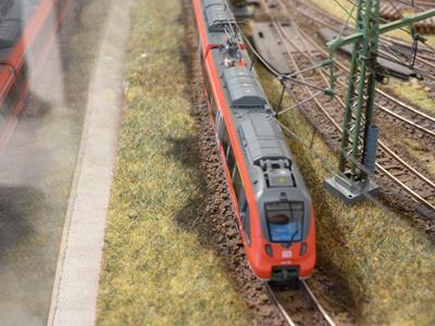 Bild: Triebwagen Talent 2 in N